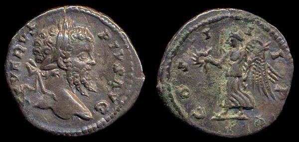 ROMAN EMPIRE, Septimius Severus, 193-211 AD, silver denarius