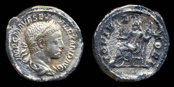 ROMAN EMPIRE, Severus Alexander, 222-235 AD, silver denarius