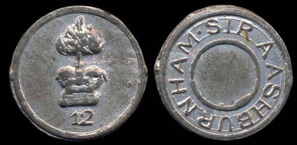 GREAT BRITAIN, token, early 19th century picker chit