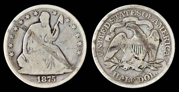USA, 50 cents, 1875