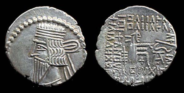 PARTHIA, Vologases III, 105-147 AD, drachm