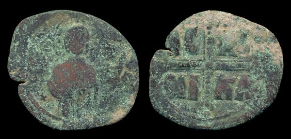BYZANTINE, anonymous, 1034-1041 AD, follis