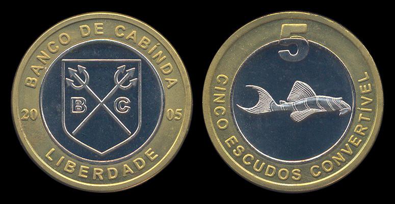 Cabinda fantasy coin