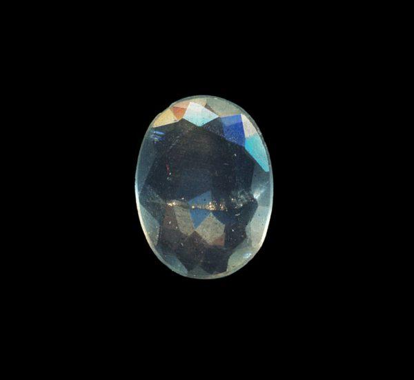 Cut aquamarine