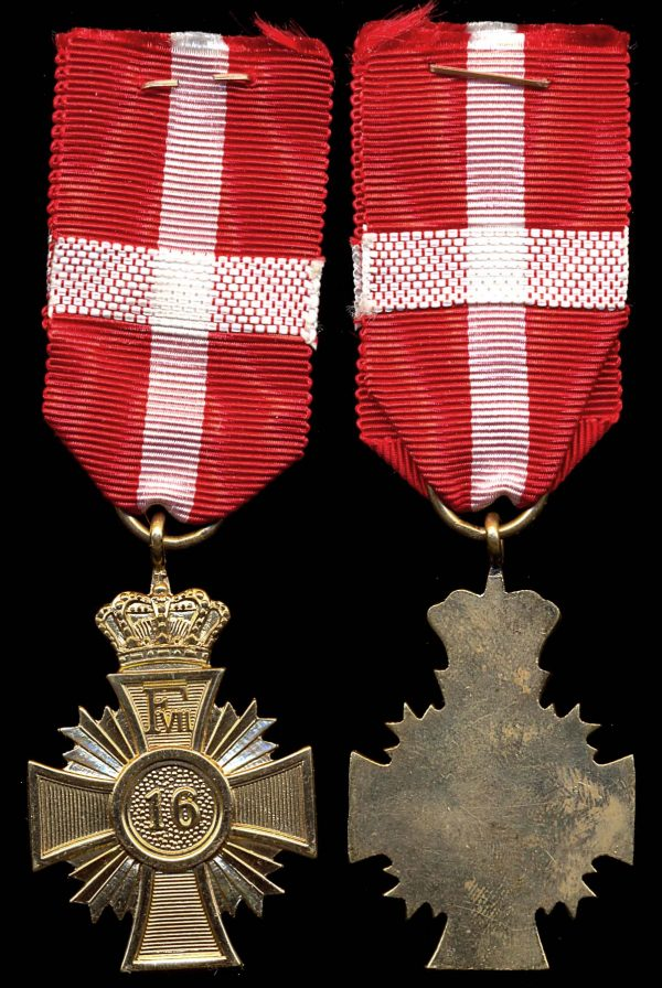 DENMARK, Faithful Service Medal, 16 Years, (1848-63)