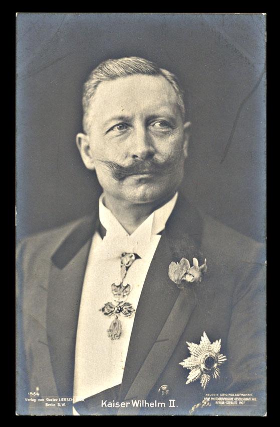 GERMANY, Kaiser Wilhelm postcard