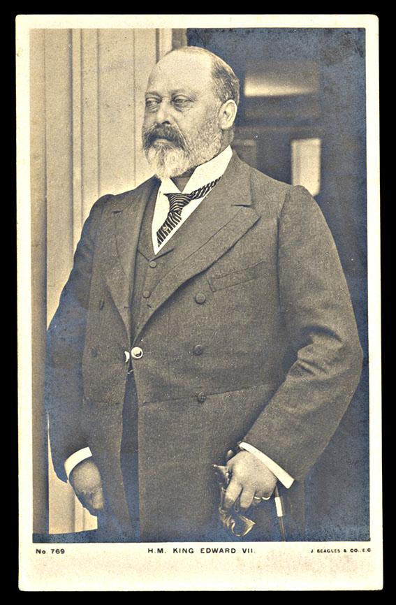 GREAT BRITAIN, Edward VII postcard