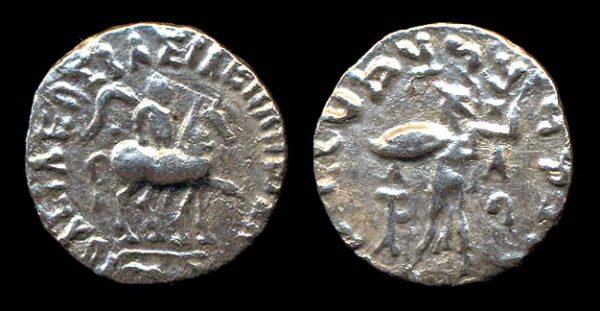 SCYTHIAN, Azes, c. 58-20 BC, drachm