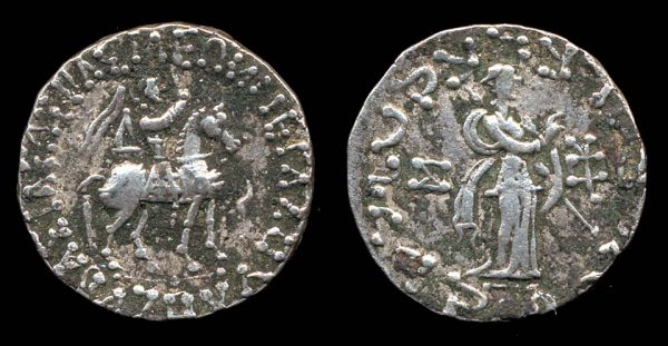 SCYTHIAN, Azes, c. 58-20 BC, tetradrachm
