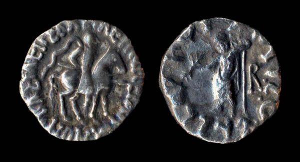 SCYTHIAN, Vonones & Spalahores, c. 75-65 BC, drachm