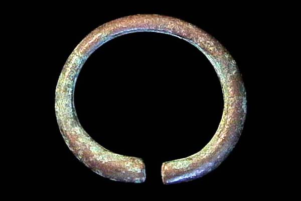 INDONESIA, JAVA, bronze keloh ring