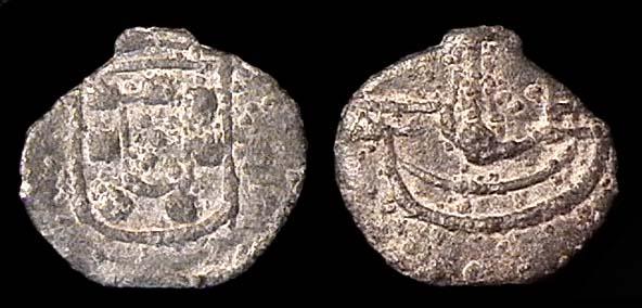 MALACCA, Sebastiao (of Portugal), 1557-78, dinheiro