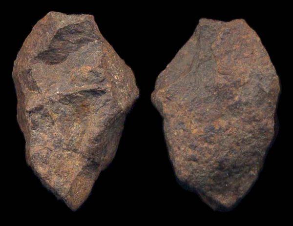 FERRITIC METEORITE from Morocco,