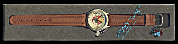 USA, Gorbachov Perestroika wristwatch, (1980s)