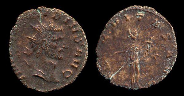 ROMAN EMPIRE, Claudius II Gothicus, 268-270 AD, antoninianius