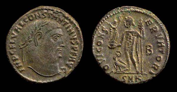 ROMAN EMPIRE, Constantine I, 307-337 AD, follis