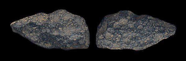 GLASSY METEORITE SPLATTER (tektite) from Thailand