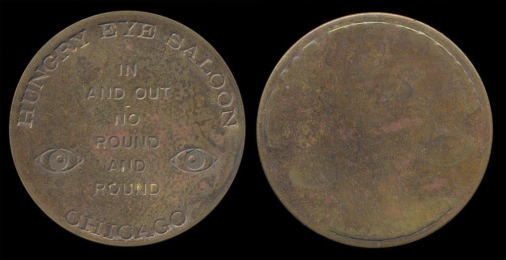 USA, NEW MEXICO, brothel fantasy token, (1960s)