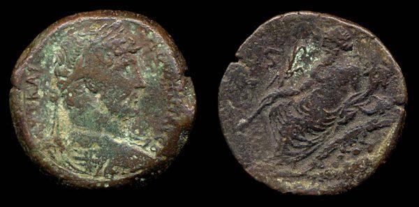EGYPT, Hadrian, 117-138 AD, bronze drachm