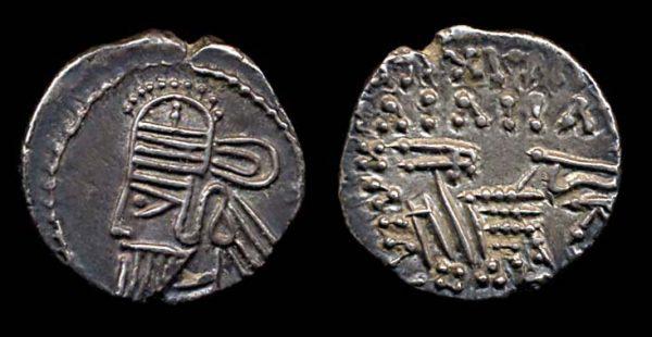 PARTHIA, Osroes II, c. 190 AD, silver drachm
