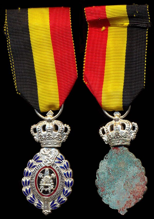 BELGIUM, Medal for 25 Years Service for Industry