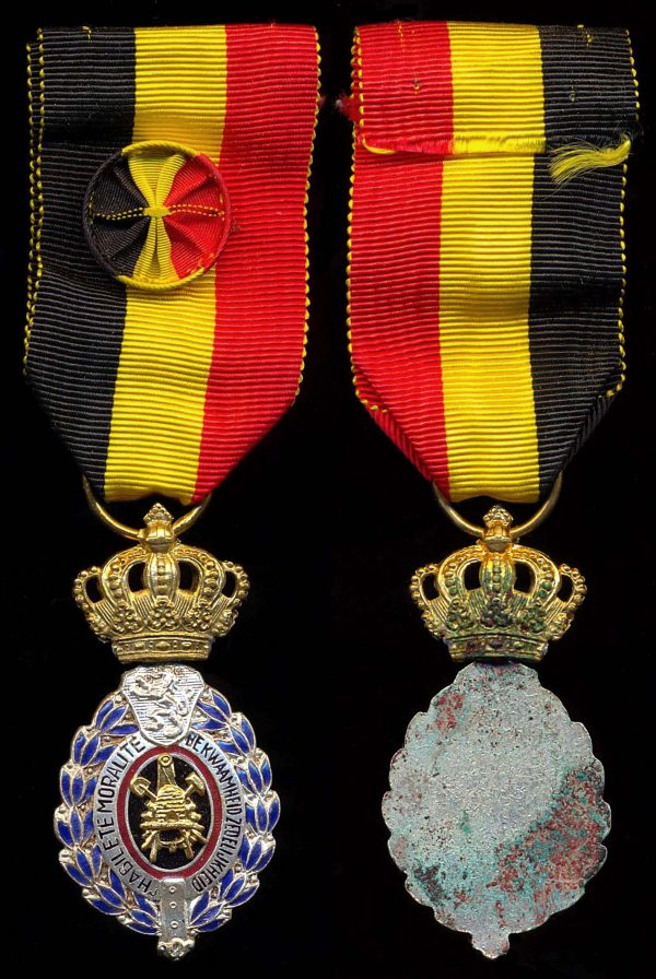 BELGIUM, Medal for 30 Years Service for Industry