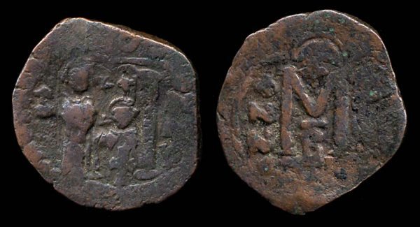 BYZANTINE, Heraclius, 610-641 AD, follis