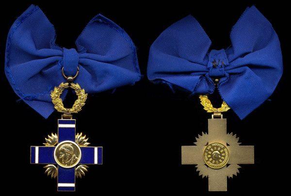 EL SALVADOR, National Order of Jose Matias Delgado, Grand Cross Badge