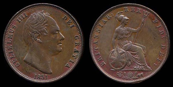 GREAT BRITAIN, halfpenny, 1831