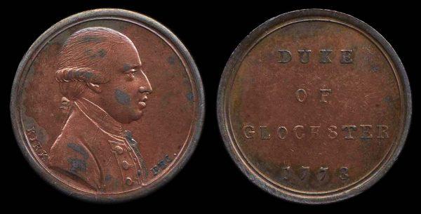 GREAT BRITAIN, LONDON, medallet, 1773