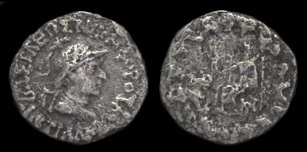 INDO-GREEK, Antialkidas, c. 145-135 BC, drachm