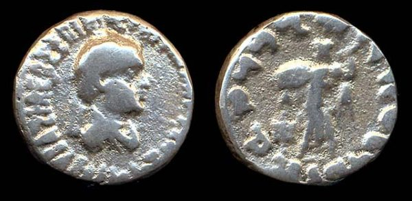 INDO-GREEK, Apollodotos II, c. 110-80 BC, drachm