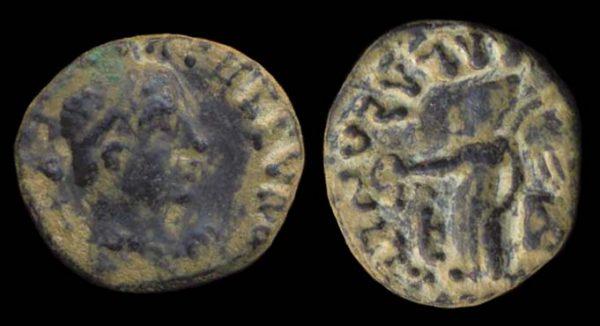 KUSHAN, Kujula Kadphises, c. 10-35 AD, drachm