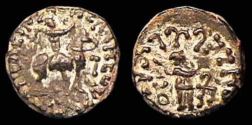 SCYTHIAN, APRACHARAJAS, Aspavarma, c. 19-46 AD, drachm