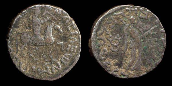 SCYTHIAN, Post-Azes period, c. 20 BC - 20 AD, tetradrachm
