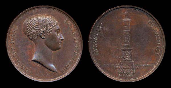 ITALY, Napoleonic family medal, 1811