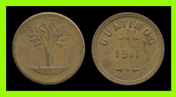 MEXICO, CHIAPAS, hacienda token, 1911