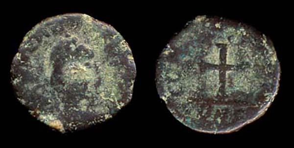 ROMAN EMPIRE, Arcadius, 383-408 AD, 1/2 centenionalis