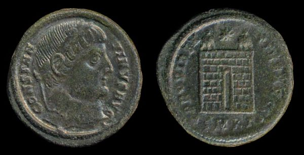 ROMAN EMPIRE, Constantine I, 307-337 AD, centenionalis