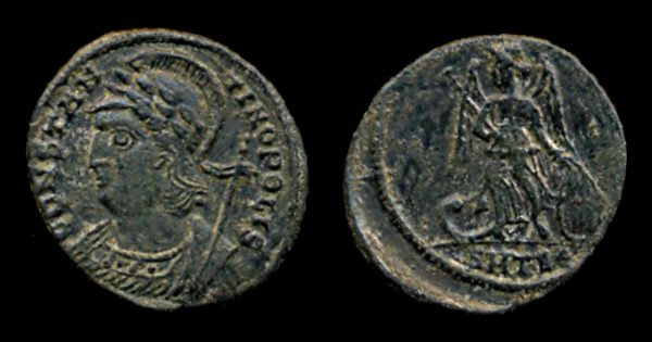 ROMAN EMPIRE, Constantine I, 307-337 AD, reduced centenionalis