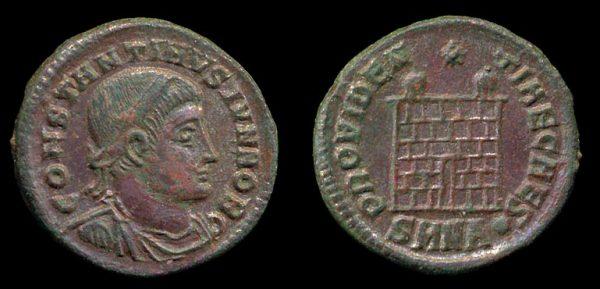 ROMAN EMPIRE, Constantine II, Caesar, 317-337 AD, centenionalis