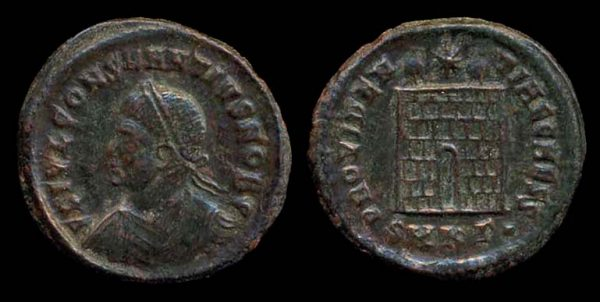 ROMAN EMPIRE, Constantius II, Caesar, 324-337 AD, centenionalis