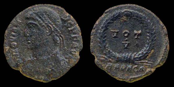 ROMAN EMPIRE, Jovian, 363-364 AD, centenionalis