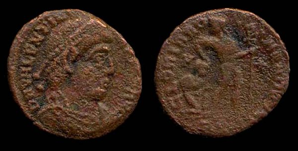 ROMAN EMPIRE, Valentinian I, 364-375 AD, centenionalis