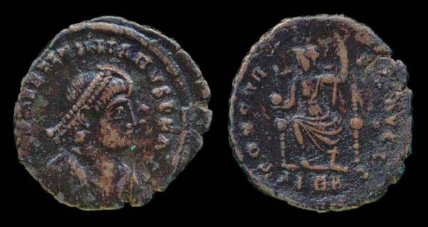 ROMAN EMPIRE, Valentinian II, 375-392 AD, centenionalis