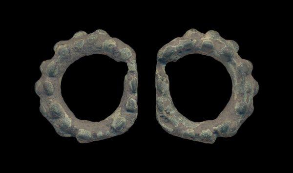 UKRAINE, ancient bronze ring