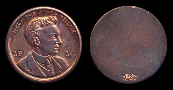 USA, Henry Ford penny 1917 (1963)