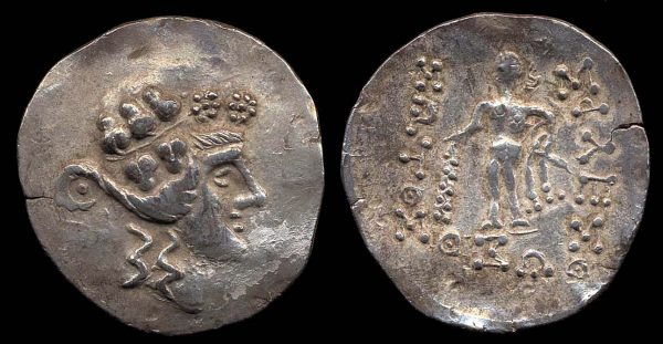 DANUBIAN CELTS, 2nd c. BC, silver tetradrachm