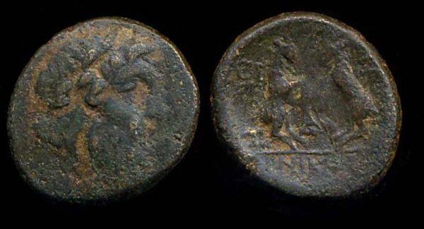 THRACE, THESSALONIKA, c. 150 BC+, bronze
