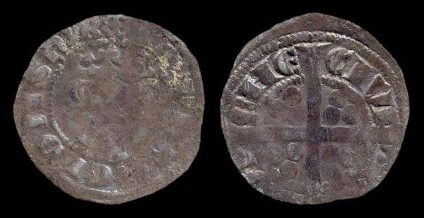 GREAT BRITAIN, Edward II, 1307-27, penny, Durham mint